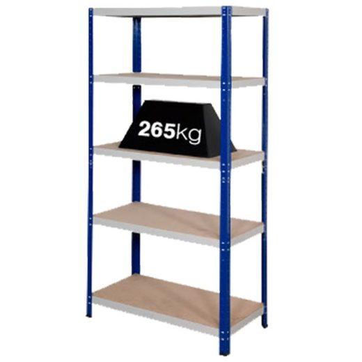 Shelving Bays 265kg Load Per Shelf