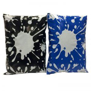 Printed Splatter Bags