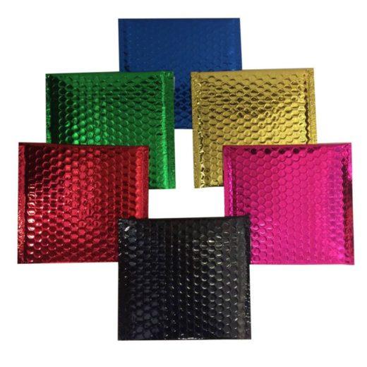 Foil Metallic Bubble Bags