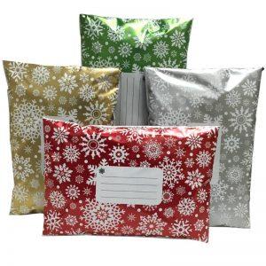 Printed Snowflakes Bags