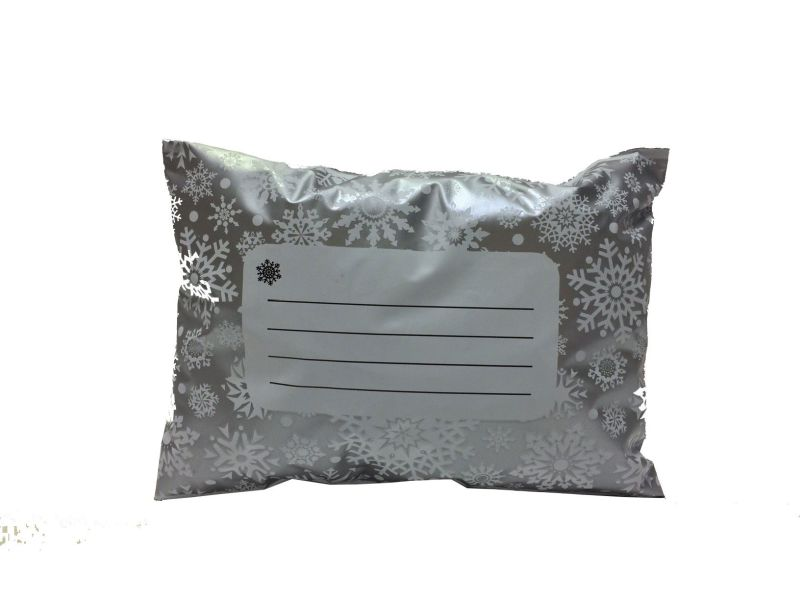 50 x Polka Dots Mailing Bags Size//Colour Silver, 13 x 17-330-440mm