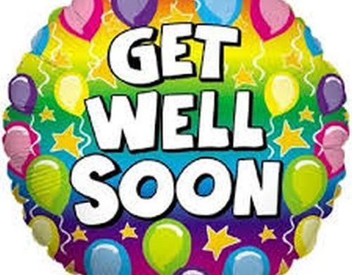 Get Well Soon Ballons