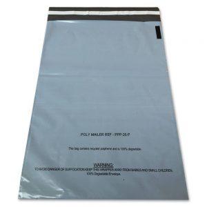 Grey & White Bags Warning