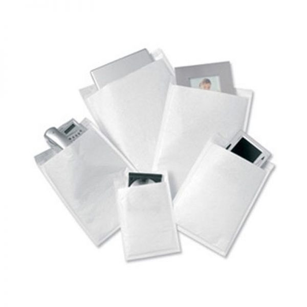 White Bubble Lined Postal Bags