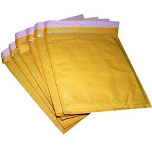 Gold Bubble Lined Postal Bags