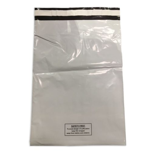 White Warning Bags