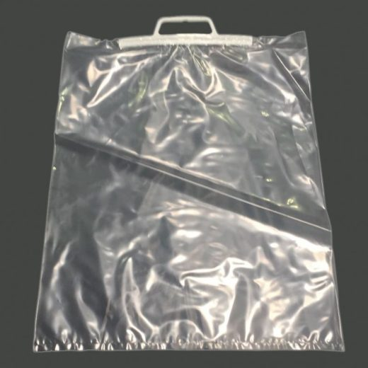 Clip Close Carrier Bags - Clear