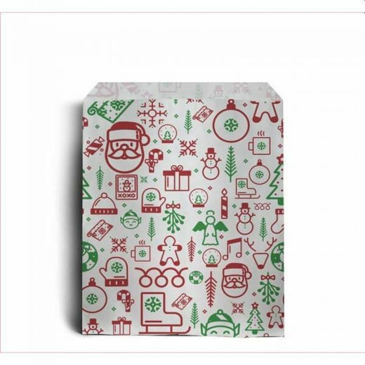 Iconic Christmas Paper Counter Bags