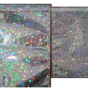 Holographic Bubble Lined Bags