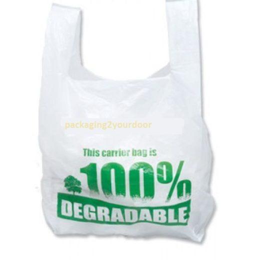 Degradable Vest Carrier Bag