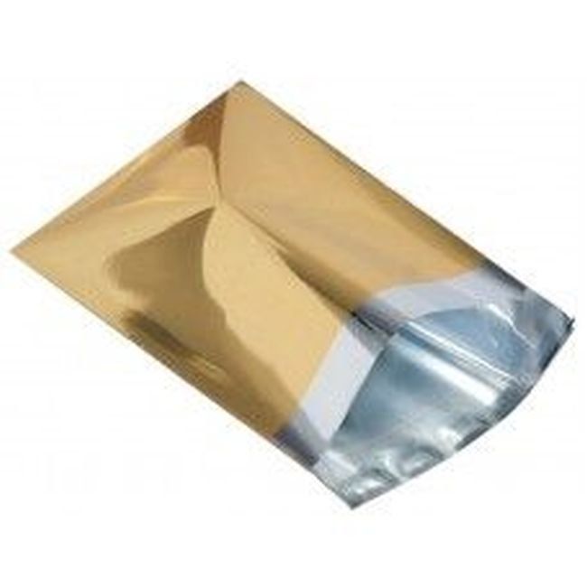 Gold-16-x-21-400-x-525mm-Lip-Metallic-Foil-Mailing-Bags-Choose-Quantity-262296295119